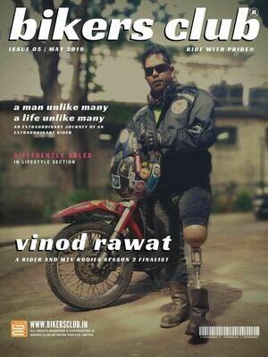 BIKERS CLUB-e-magazine-may 2019-Vinod Rawat