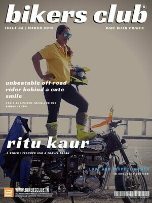 BIKERS CLUB-Print Copy-March 2019-Ritu Kaur