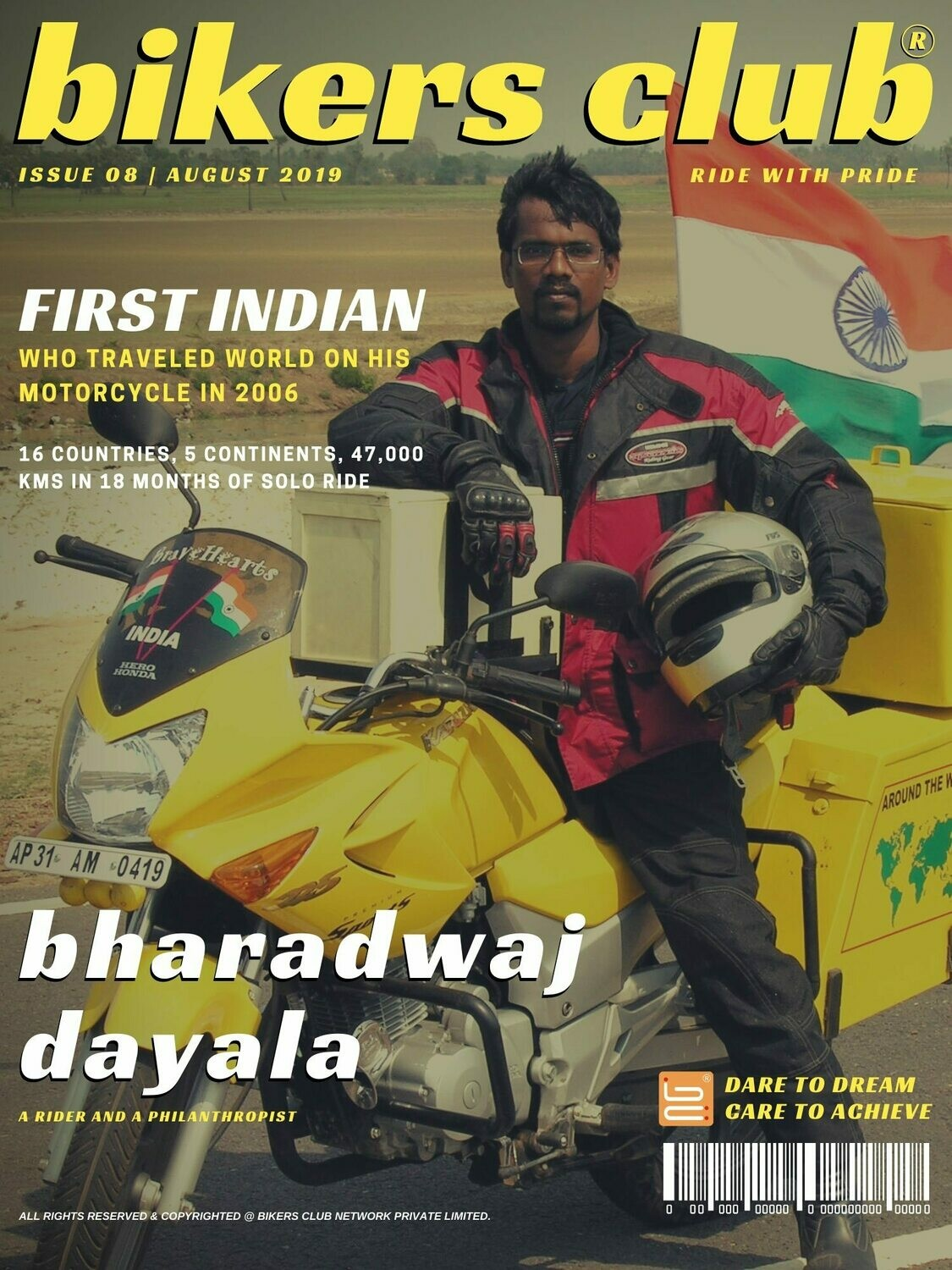 BIKERS CLUB-e-magazine-aug 2019-Bharadwaj Dayala