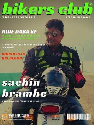 BIKERS CLUB-e-magazine-oct 2019-Sachin Bramhe