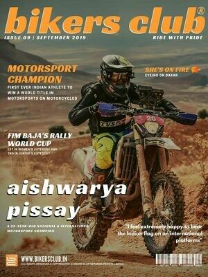 BIKERS CLUB-e-magazine-sept 2019-Aishwarya Pissay
