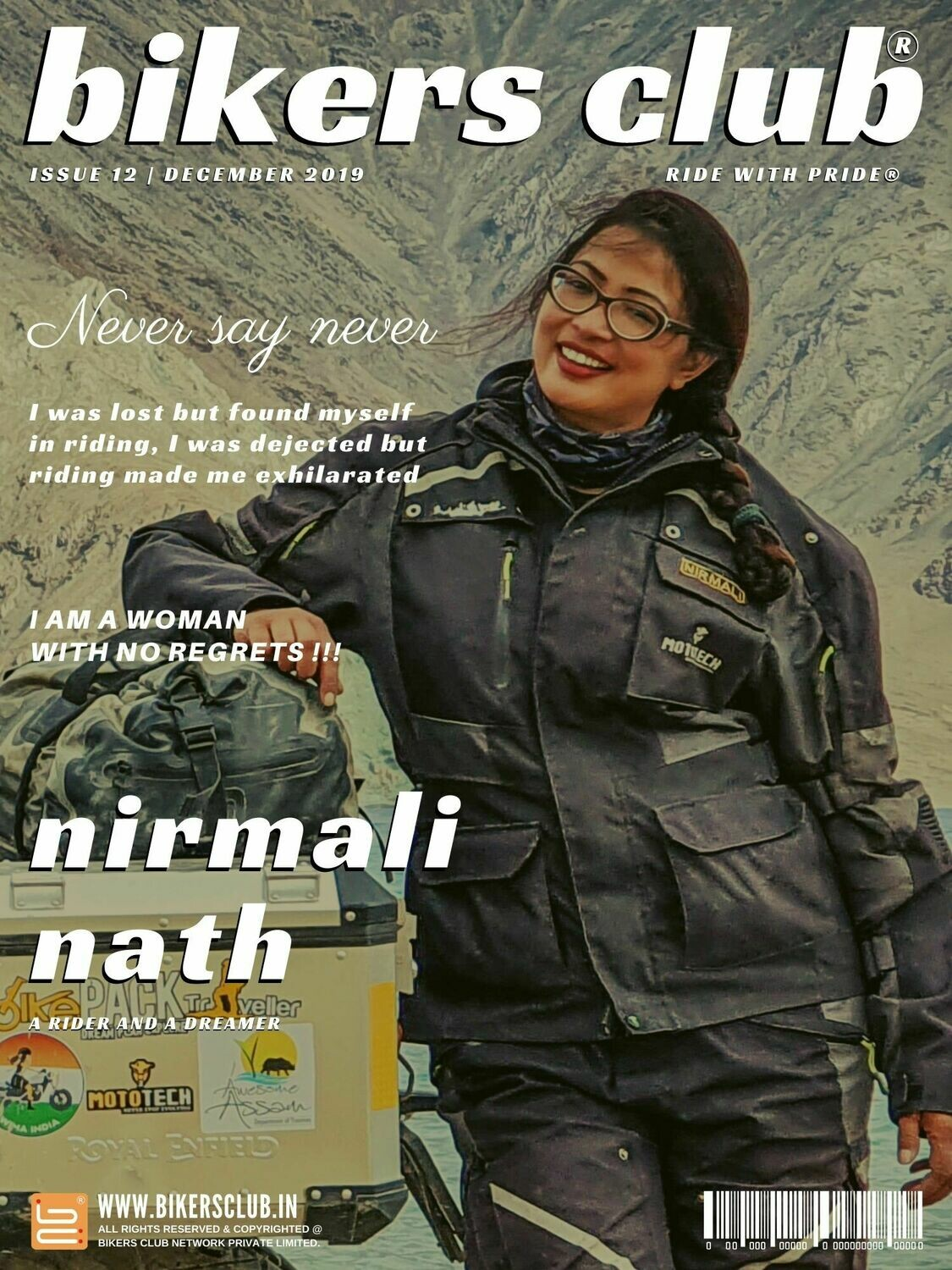 BIKERS CLUB-e-magazine-dec 2019-Nirmali Nath