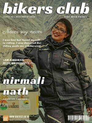 BIKERS CLUB-e-magazine-dec 2019-Nirmali Nath