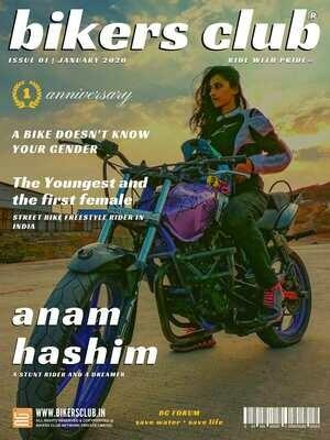 BIKERS CLUB-e-magazine-jan 2020-Anam Hashim