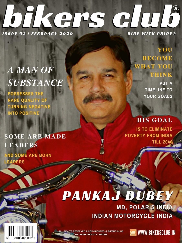 BIKERS CLUB-e-magazine-feb 2020-Pankaj Dubey