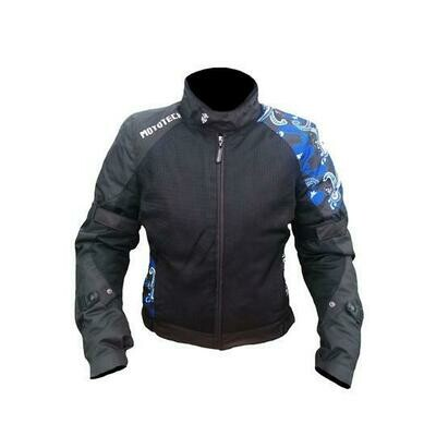 MotoTech Scrambler Air Women's Motorcycle Jacket - Level 2
