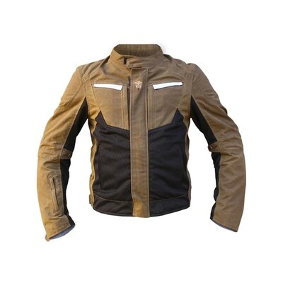 MotoTech Contour Air 2.0 Riding Jacket - Fleece Upgrade - Sandstone
