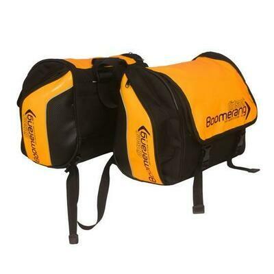 Dirtsack Boomerang Saddle Bags - Orange (All-weather)