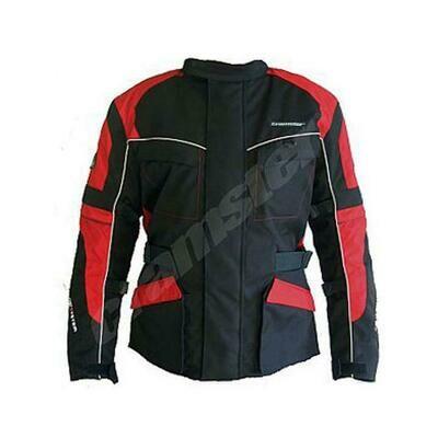 Cramster K2K 2.0 - Enduro Touring Jacket - Black/Red