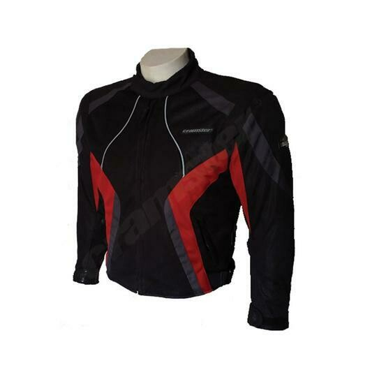 Cramster Breezer 4S - (3 IN 1) - Mesh Riding Jacket - Black/Red