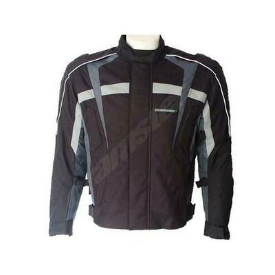 Cramster Raptor - Short Touring Jacket - Black/Grey