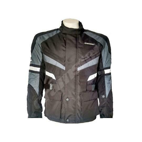Cramster Outback – Enduro Touring Jacket - Black/Grey