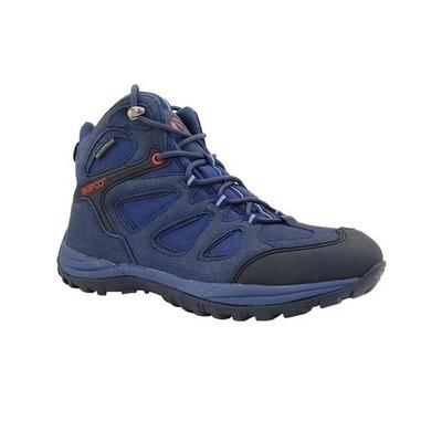 Quipco Terra Waterproof Trekking Shoes - Blue