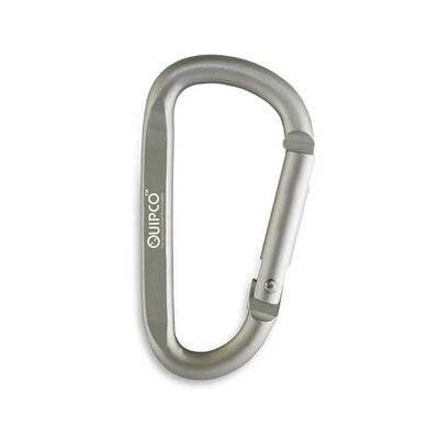 Quipco Matt Mercury Accessory Carabiner - 7cms - Sliver