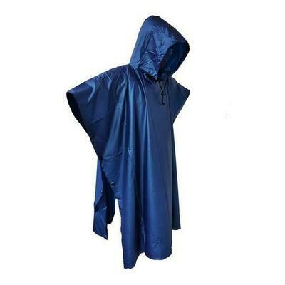 Quipco Thunder Rain Poncho - Blue
