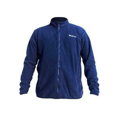 Quipco Tundra 100 Fleece Jacket - Navy Blue
