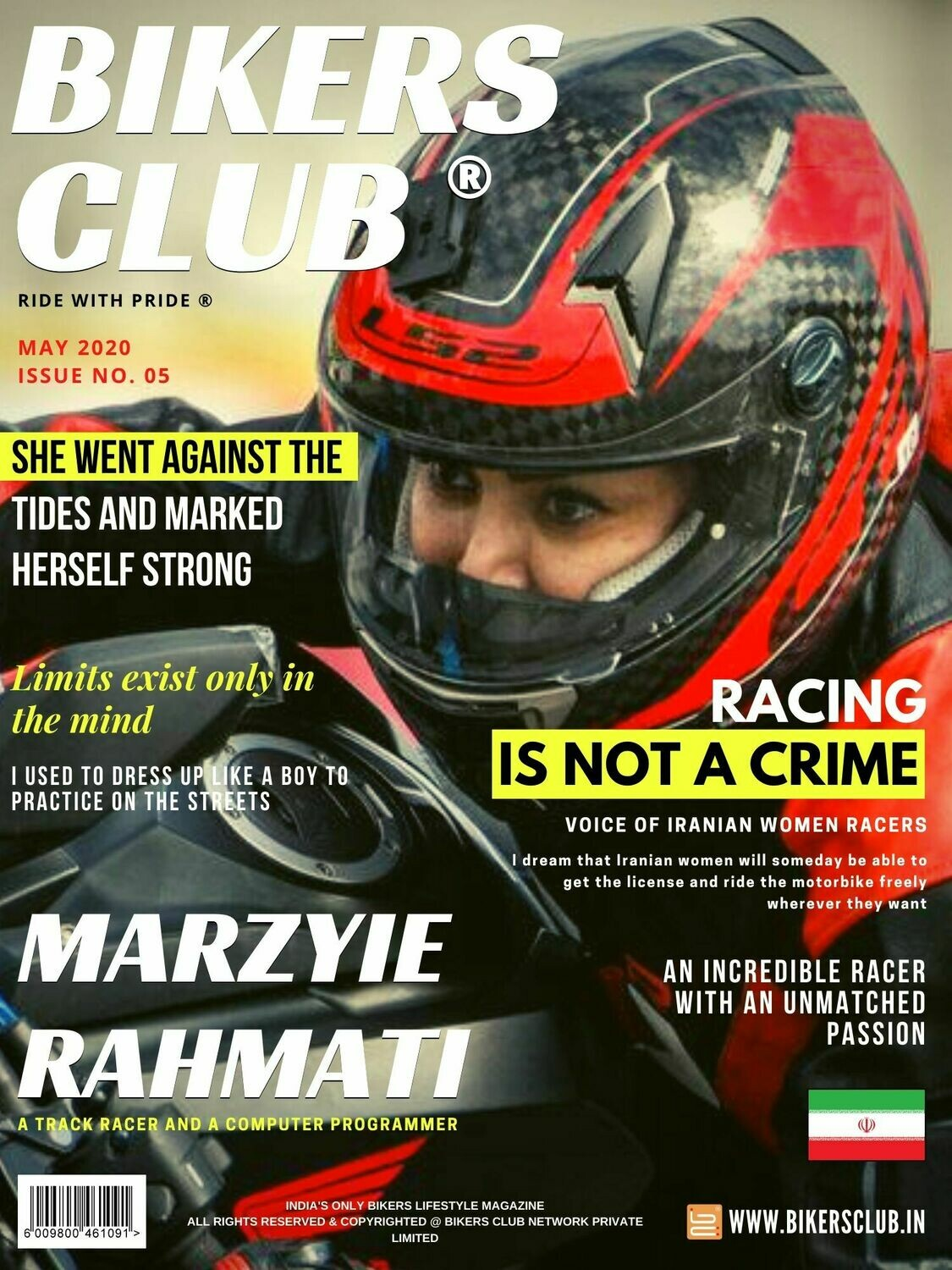 Bikers Club-e-magazine-May-2020-Marzyie Rahmati