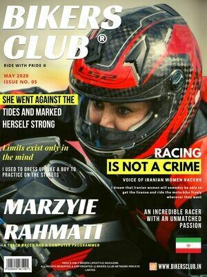 Bikers Club-e-magazine-May-2020-Marzyie Rahmati