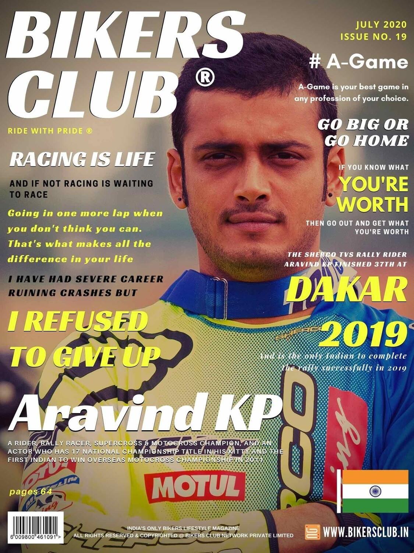 Bikers Club-e-magazine-July-2020-Aravind KP