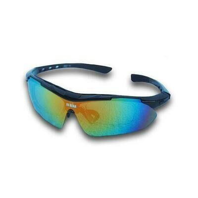 Eyewear for Cycling & Outdoors - Santorini Black