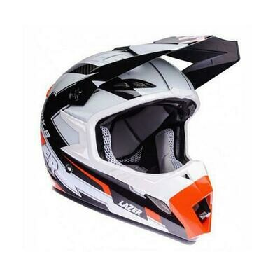 MX8 Geotech Pure Carbon Motocross Helmets - Gloss