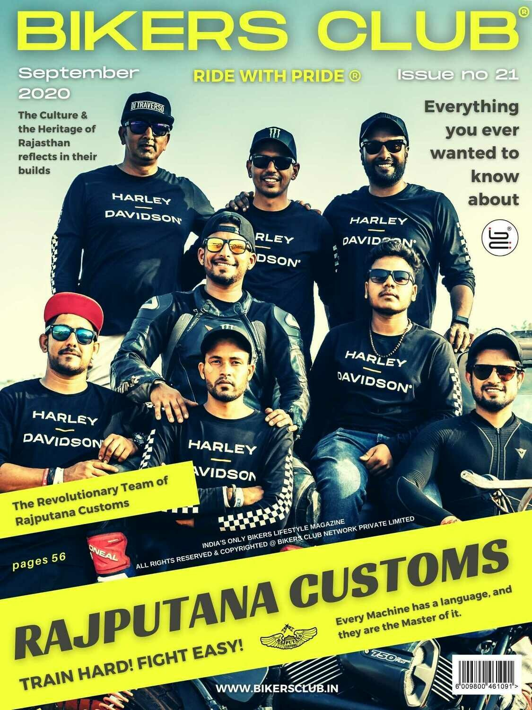 Bikers Club-e-magazine-September 2020-Rajputana Customs