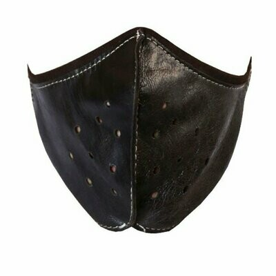 Golden Riders LEATHER FACE MASK
