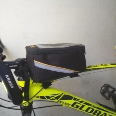 Golden Riders FRONT FRAME & HANDLEBAR ACCESSORY BAG