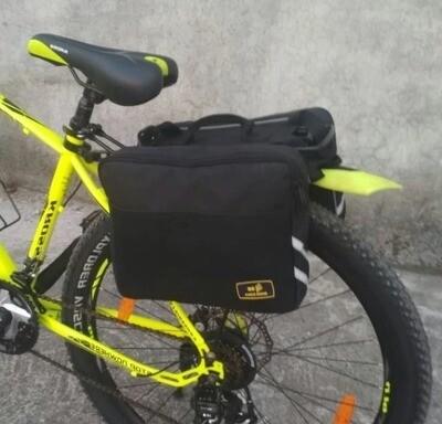 Golden Riders BICYCLE REAR WHEEL SADDLEBAG - REGULAR