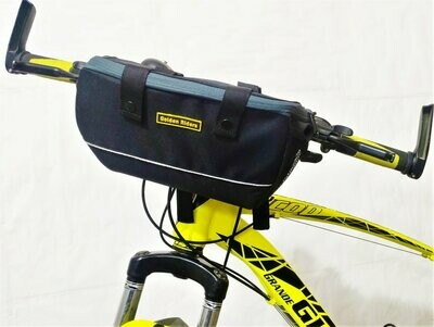 Golden Riders BICYCLE HANDLEBAR BASKET BAG