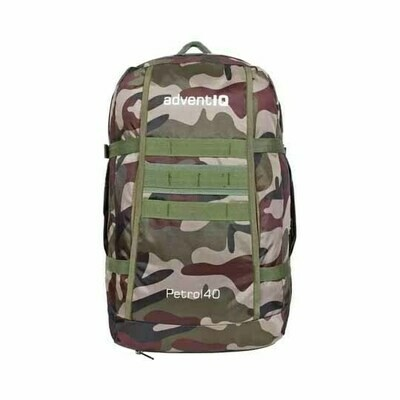 Petrol Military Grade Backpack With Rain Cover - 40L