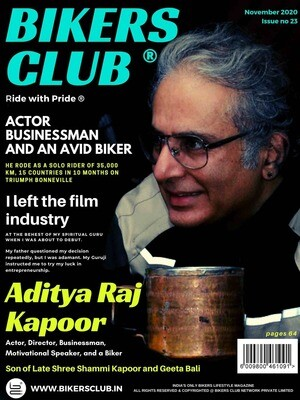 Bikers Club-e-magazine-November-2020-Aditya Raj Kapoor