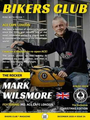 Bikers Club-Print-Copy-December-2020-Mark Wilsmore-Ace Cafe London