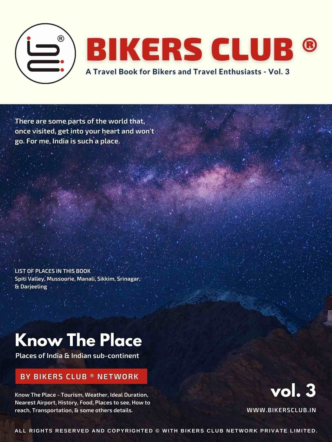 Know The Place Print Book VOL.3