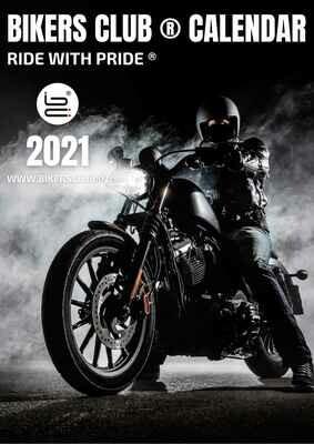 Bikers Club Calendar 2021-Print Copy-Table Top