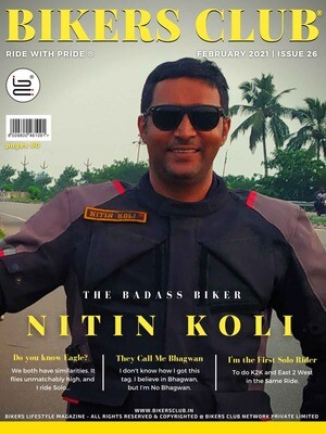 Bikers Club-e-magazine-February-2021-Nitin Koli