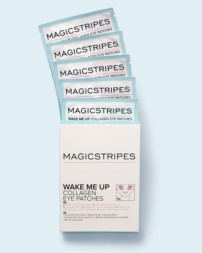 WAKE ME UP COLLAGEN EYE PATCHES - 5 PAIRS