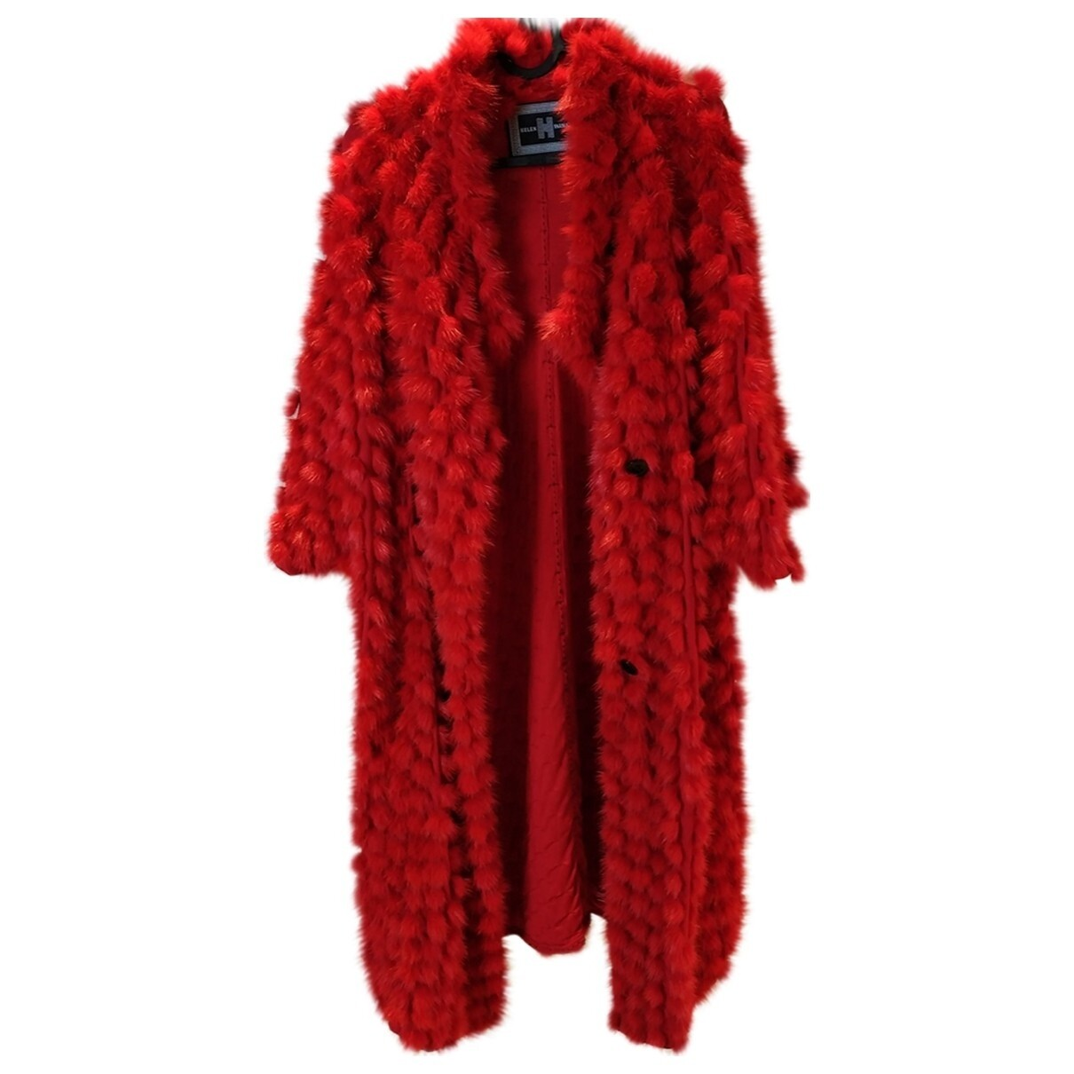 Helen Yarmak red coat
