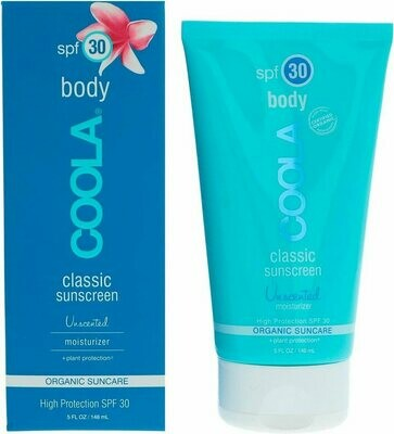 Classic Body sunscreen spf 30 unscented moisturizer