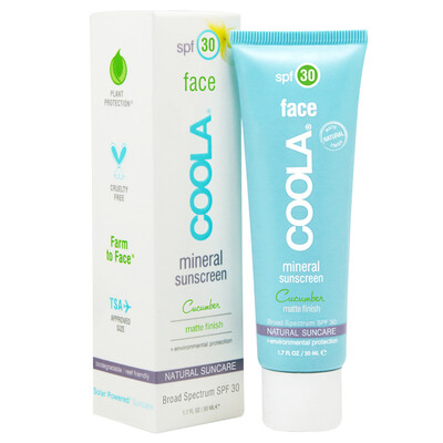 Face SPF 30 Mineral Sunscreen - Cucumber