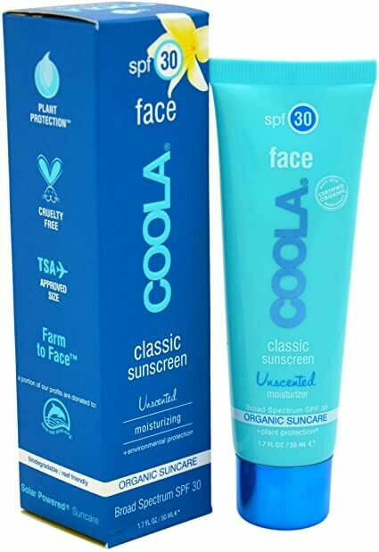 Face SPF 30 Sunscreen Moisturizer - Unscented