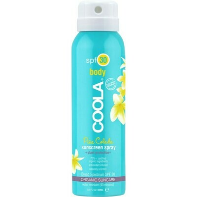 Travel Size Classic Body Organic Sunscreen Spray SPF 30 - Pina Colada