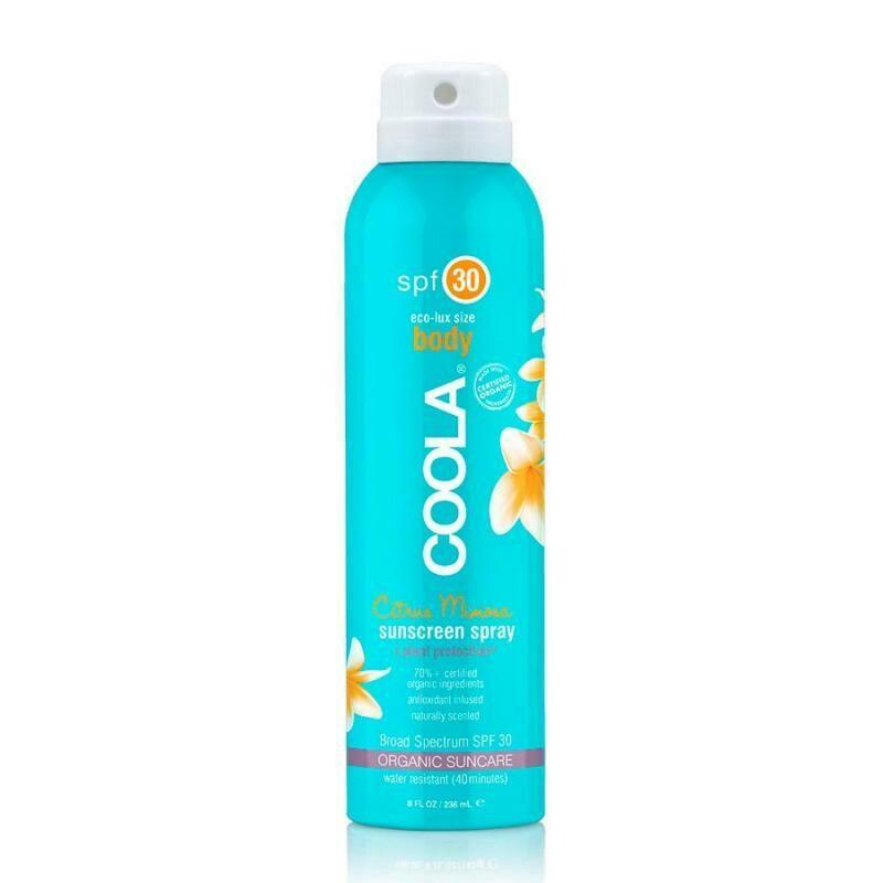 Big Size (236ml) Classic Body Organic Sunscreen Spray SPF 30 - Citrus-Mimosa