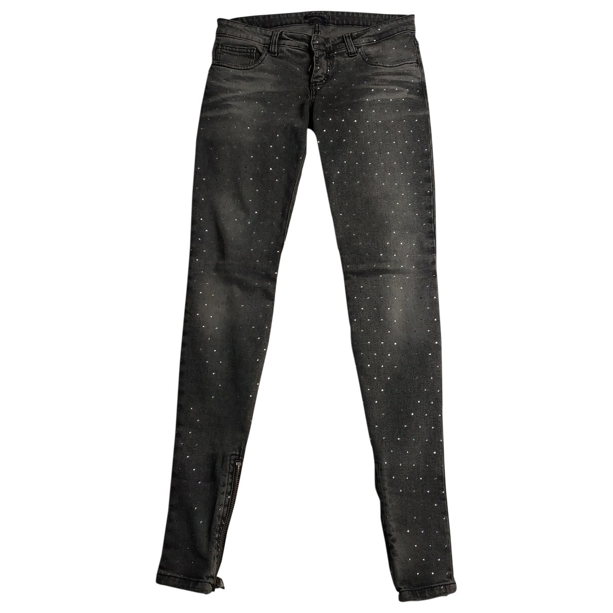 Balmain slim Jeans with Crystals