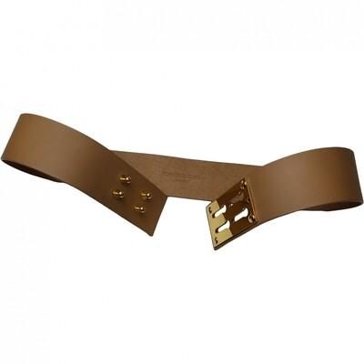 Sophie Hulme Leather belt 80 cm