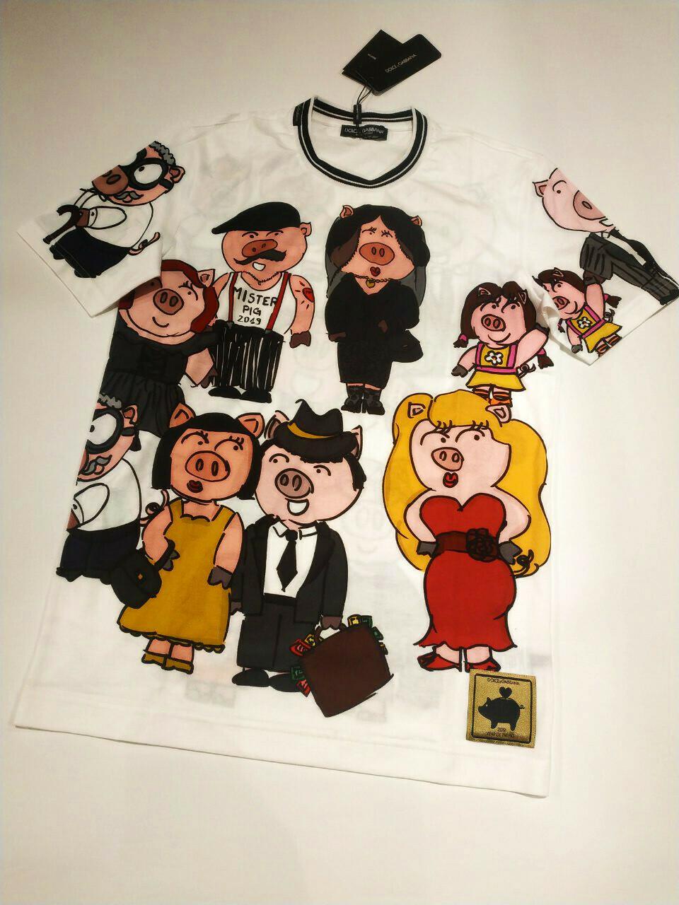 Dolce and Gabbana T-shirt Piggy