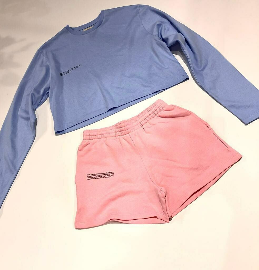 Pangaia shorts suit