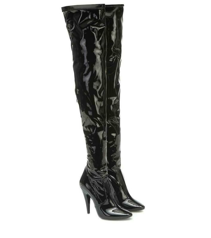 Saint Laurent over-knee boots