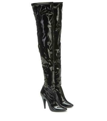 Saint Laurent over-knee boots