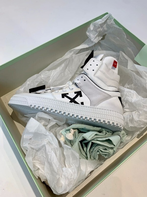 Off-white sneakers, size 42